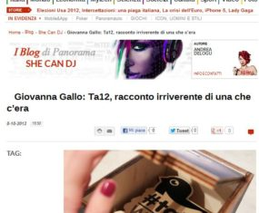 TweetAwards2012: il mio racconto irriverente dei Ta12 su Panorama.it