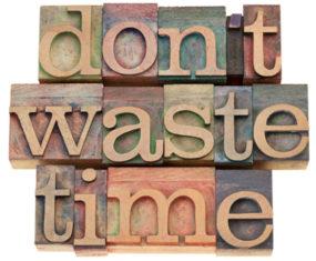 Del perché non voglio più perdere tempo