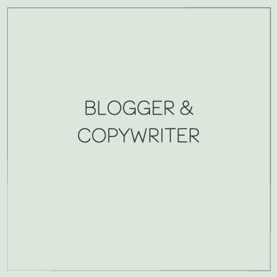 Blogger e copywriter