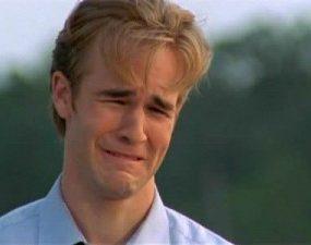 Dawson celebra la faccia lacrimante con un sito imperdibile