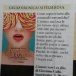 L'amore non è un film di Giovanna Gallo – Rassegna Stampa